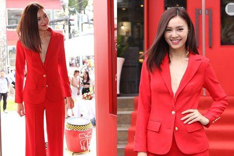 Ky Duyen, Angela Phuong Trinh lai quen noi y khi mac vest - Anh 16