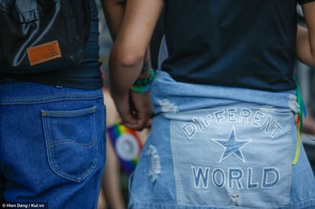 Sai Gon: Mau cau vong ngap tran pho di bo trong ngay hoi LGBT - Anh 14