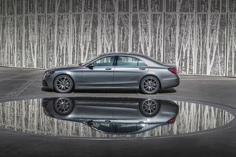 Mercedes S-Class 2018 trang bi xin, gia mem - Anh 2