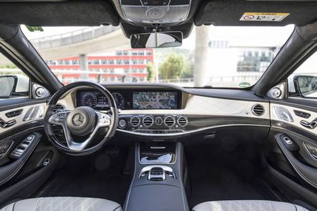 Mercedes S-Class 2018 trang bi xin, gia mem - Anh 7
