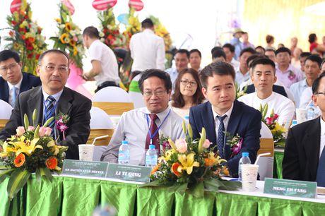 Phu Tho khoi cong nha may dot rac thai sinh hoat phat dien - Anh 1