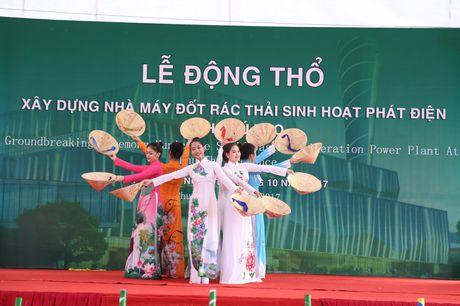 Phu Tho khoi cong nha may dot rac thai sinh hoat phat dien - Anh 2