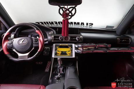 Lexus IS F Sport do 'chuan bai', mam Vossen CG 207 cuc chat - Anh 11