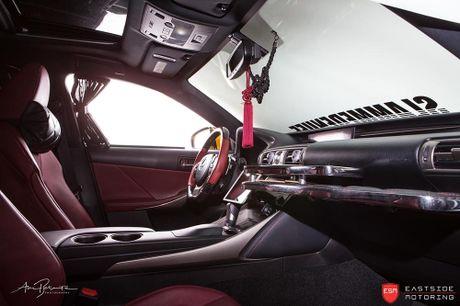 Lexus IS F Sport do 'chuan bai', mam Vossen CG 207 cuc chat - Anh 12