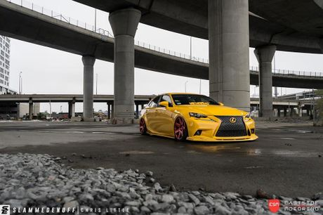 Lexus IS F Sport do 'chuan bai', mam Vossen CG 207 cuc chat - Anh 15