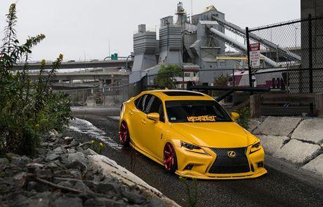 Lexus IS F Sport do 'chuan bai', mam Vossen CG 207 cuc chat - Anh 2
