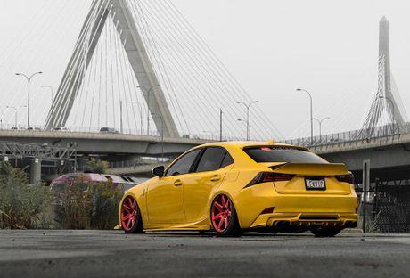 Lexus IS F Sport do 'chuan bai', mam Vossen CG 207 cuc chat - Anh 3