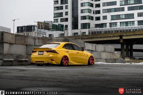 Lexus IS F Sport do 'chuan bai', mam Vossen CG 207 cuc chat - Anh 4
