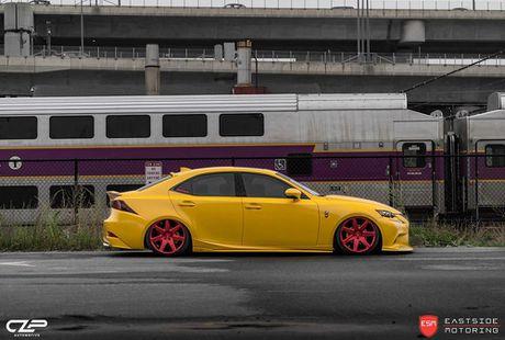 Lexus IS F Sport do 'chuan bai', mam Vossen CG 207 cuc chat - Anh 5