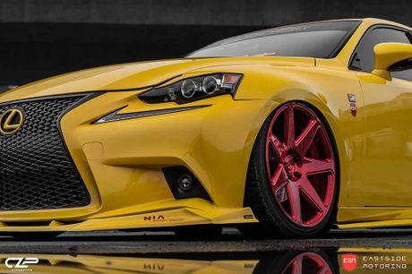 Lexus IS F Sport do 'chuan bai', mam Vossen CG 207 cuc chat - Anh 6