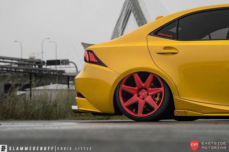 Lexus IS F Sport do 'chuan bai', mam Vossen CG 207 cuc chat - Anh 9