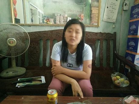 Hai Phong: Dieu tra thong tin bo dung gach danh con gai nhap vien - Anh 1
