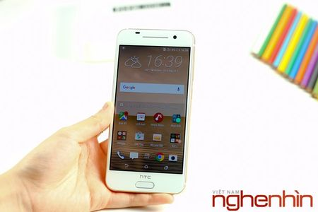 Mo hop HTC One A9 phien ban vang topaz - Anh 13
