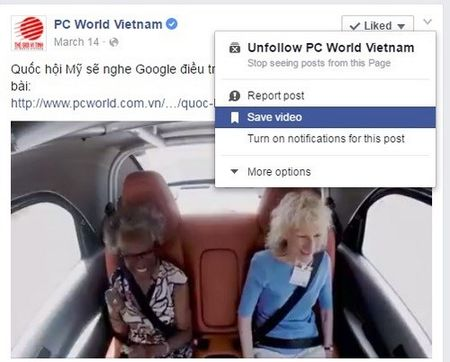 Bi quyet tai video tren Facebook ve may tinh - Anh 1