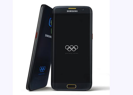 Galaxy S7, S7 Edge Olympic Editions chinh thuc trinh lang - Anh 2