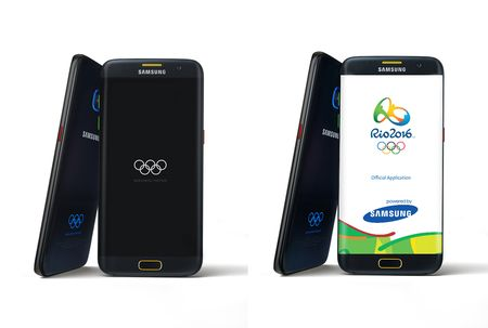 Galaxy S7, S7 edge ban Olympic ra mat - Anh 1