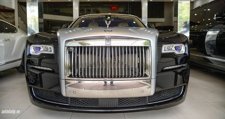 Rolls-Royce Ghost Series II rao ban gia 25 ty dong tai Ha Noi - Anh 2