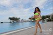 Huyền My và dàn thí sinh Miss Grand International 2017 khoe hình thể nóng bỏng trong phần thi bikini