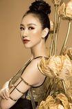 Trang phục dân tộc gây sốc của Hà Thu tại Miss Earth