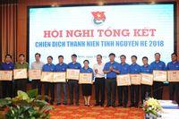 Hoàn thành 8/9 ch tiêu  ra trong Chin dch Thanh niên tình nguyn hè 2018