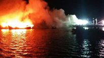 Bình Định: Cháy 3 tàu cá, thiệt hại trên 30 tỷ đồng