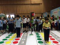 Giao lưu tìm hiểu kỹ năng ATGT cho học sinh tiểu học