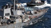Tàu khu trục Mỹ bị đâm có thể do lỗi của thủy thủ đoàn