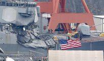 """Tàu chiến Mỹ """"được cảnh báo"""" trước khi đụng tàu hàng Philippines"""