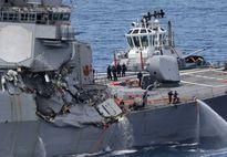Tàu khu trục Mỹ 'phớt lờ' cảnh báo va chạm của Philippines?