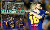 Cận cảnh: Barca đè bẹp Juventus nhờ phong độ đỉnh cao của Messi