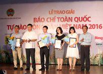 Trao Giải Báo chí toàn quốc Tự hào Nông dân Việt Nam 2016-2017