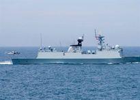 Tàu chiến Trung Quốc tập trận với hải quân Nga