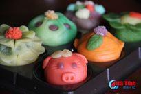 Những mẫu bánh Trung thu handmade 'cực chất' ở Hà Tĩnh