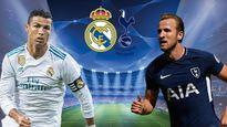 Real 0-0 Tottenham: Ronaldo 'đọ súng' Harry Kane (H1)