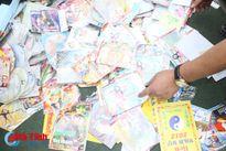 Tiêu hủy hơn 6.400 băng đĩa đồi trụy, sách mê tín dị đoan