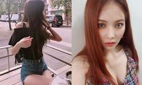 Sao Hàn 20/10: Rosé (Black Pink) eo 'con kiến', Hyun Ah lấp ló vòng 1 sexy