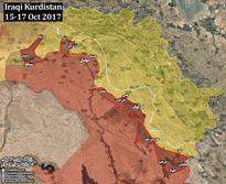Quân đội Iraq tốc chiến chiếm hàng loạt địa bàn trọng yếu của người Kurd