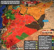 IS khiến quân đội Syria sa lầy tại mặt trận nam Deir Ezzor