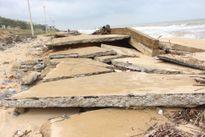 Quảng Bình: Kè đê biển xã Hải Trạch hư hỏng nặng