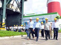 Bộ trưởng Trần Hồng Hà kiểm tra công tác bảo vệ môi trường tại Nhà máy giấy Lee & Man Hậu Giang