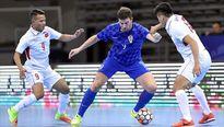 ĐT futsal Việt Nam không tạo nên bất ngờ trước Croatia ở giải Trung Quốc