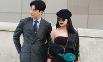 Trà Ngọc Hằng tình tứ với diễn viên 'The K2' tại Seoul Fashion Week