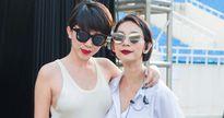Tóc Tiên cùng dàn chân dài đổ bộ Hà Nội chuẩn bị cho show thời trang có 1-0-2
