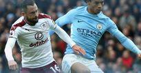 Video, kết quả bóng đá Man City - Burnley: Trái đắng 11m, Aguero cân bằng kỉ lục (Hiệp 1)