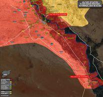 'Hổ Syria' tấn công IS đánh chiếm mỏ dầu ở Deir Ezzor