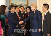 Phó Chủ tịch nước tiếp tục hoạt động tại Litva