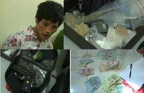 Thái Bình: Tóm đối tượng xách súng, lựu đạn đi buôn ma túy