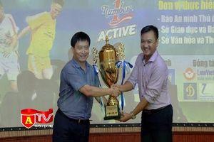 86 đội bóng sẵn sàng tranh tài Giải bóng đá học sinh THPT Hà Nội 2017