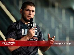 'Đại bàng nước Nga' Khabib lại đòi suất tranh đai UFC