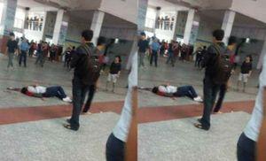 Cháy trường Đại học Công nghệ TP HCM, một nam sinh tử vong